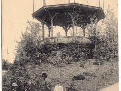 Открытка. Музыкальный павильон. 1913 г. Подарена «Обществом по охране и исследованию сов» (Германия).