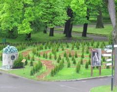 Зеленый лабиринт. 2015 г. Из архива Калининградского зоопарка.