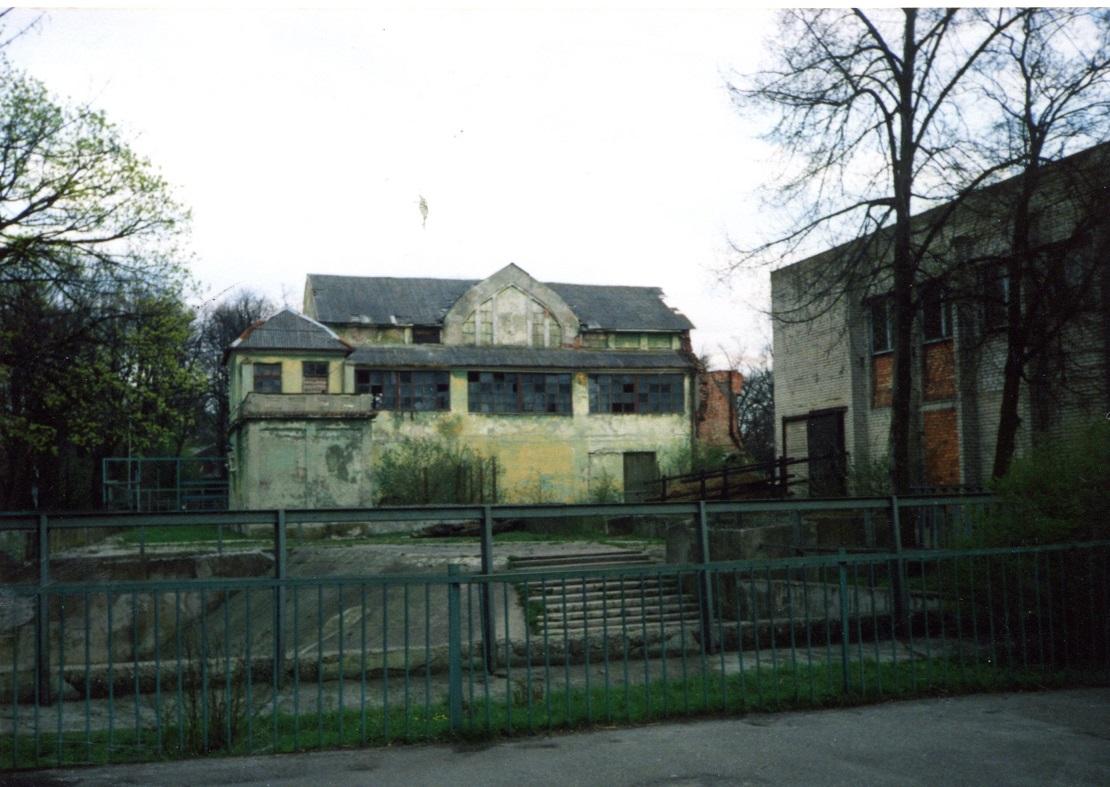 Остатки Общественного дома 1999 г.