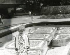 Фотография. Бассейн в Детском городке. Май 1982 г.  Из частного архива.